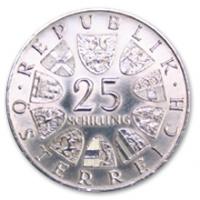 25 Schilling, 1966