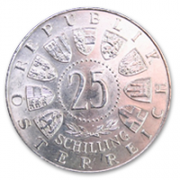 25 Schilling, 1960